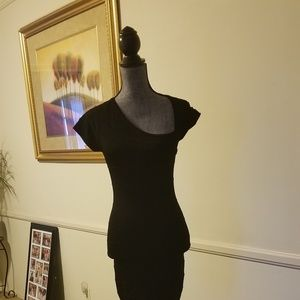 """bebe """"Little Fitted Black Dress"""" XSmall"""